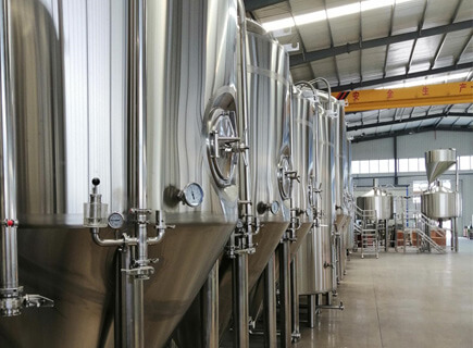 2500L brewery system