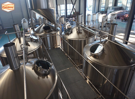 5000L brewery system