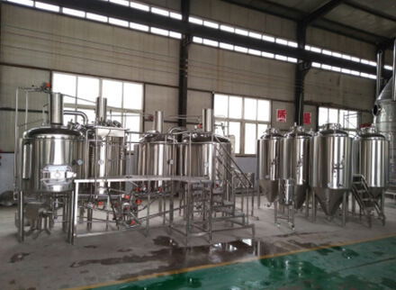 Germany 650L brewery equipment