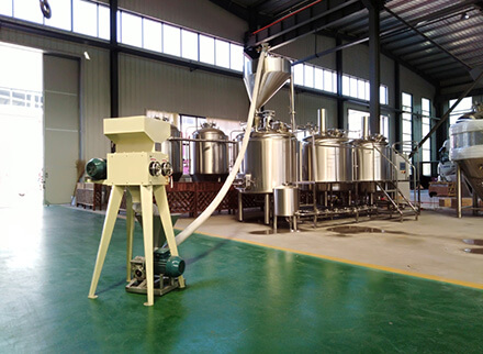 1000L Australia brewery equipment was shipping