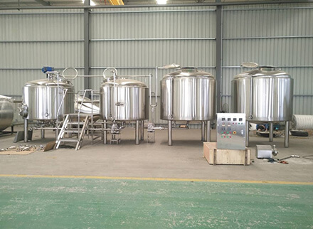 USA 15BBL brewery equipment finished