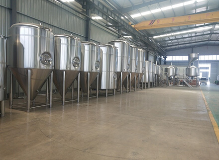 USA 30BBL brewery equipment shipped
