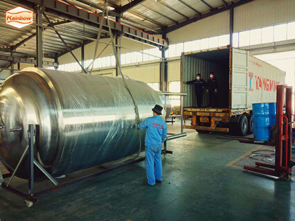 Shipment of 10000L Beer Fermenting Vessels